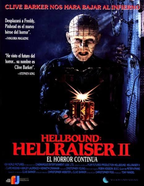 Hellbound- Hellraiser II บิดเปิดผี 2 (1988)