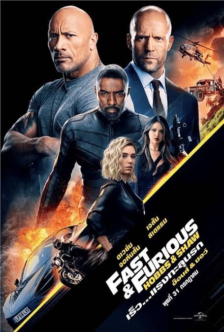 Fast & Furious Presents- Hobbs & Shaw เร็ว…แรงทะลุนรก ฮ็อบส์ & ชอว์ (2019)