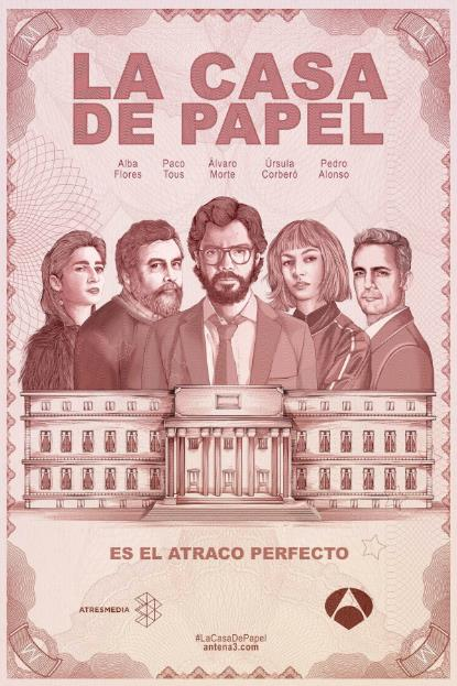 LA CASA DE PAPEL SEASON 1 (Money Heist) ทรชนคนปล้นโลก ปี 1 ซับไทย EP1-EP13 [จบ]
