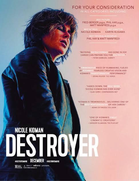 DESTROYER (2018) แค้นฝังลึก