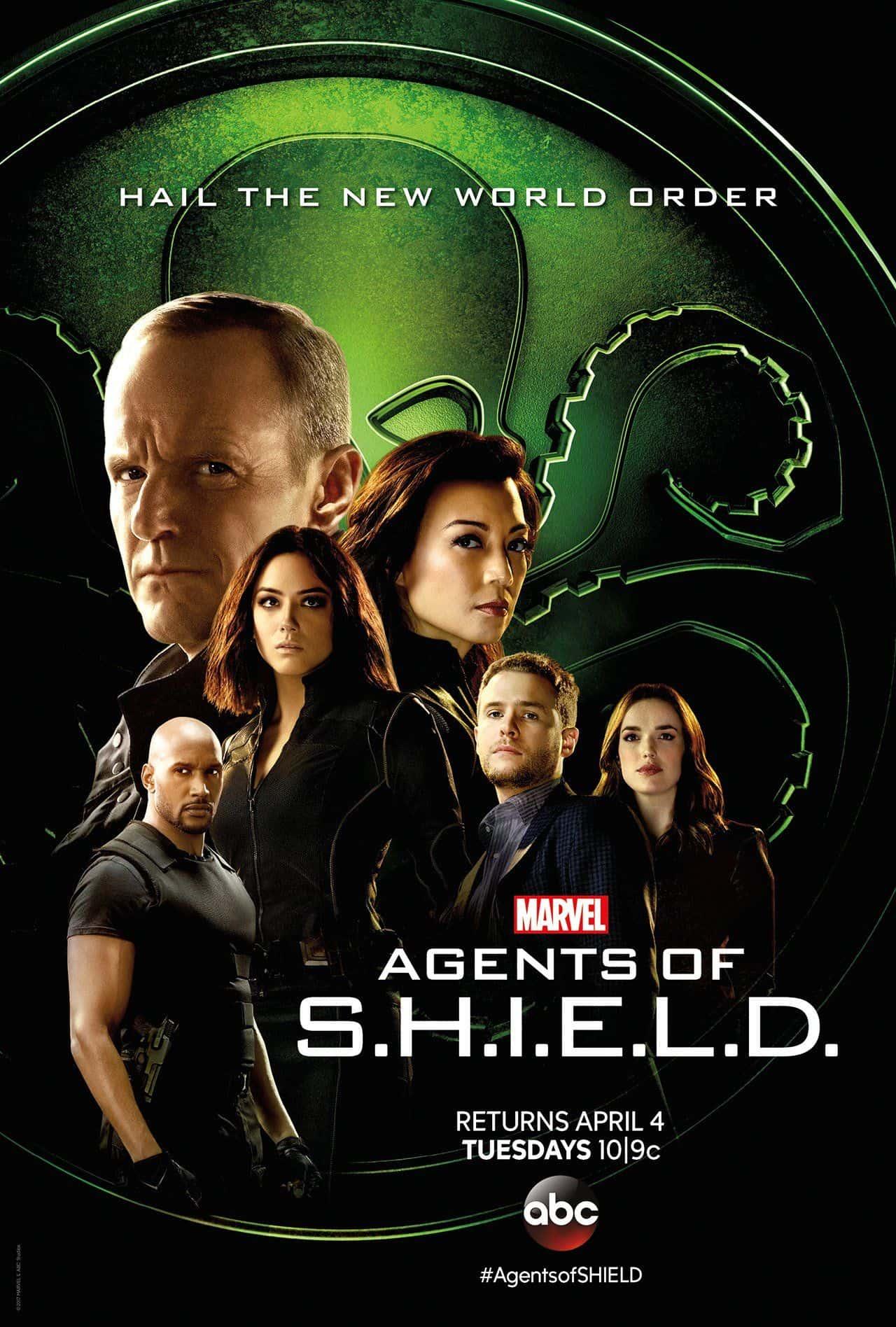 MARVEL'S AGENTS OF S.H.I.E.L.D SEASON 4 พากย์ไทย EP.1 – EP.22 [จบ]