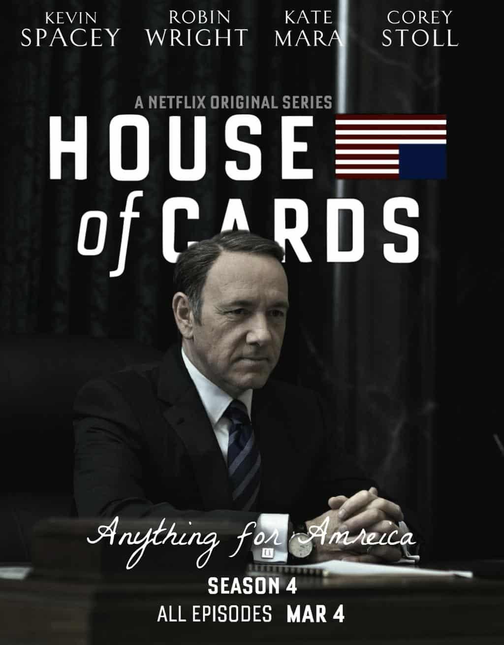 เกมส์อำนาจ ปี 4 House of Cards Season 4 ซับไทย EP1 – EP13 [จบ]