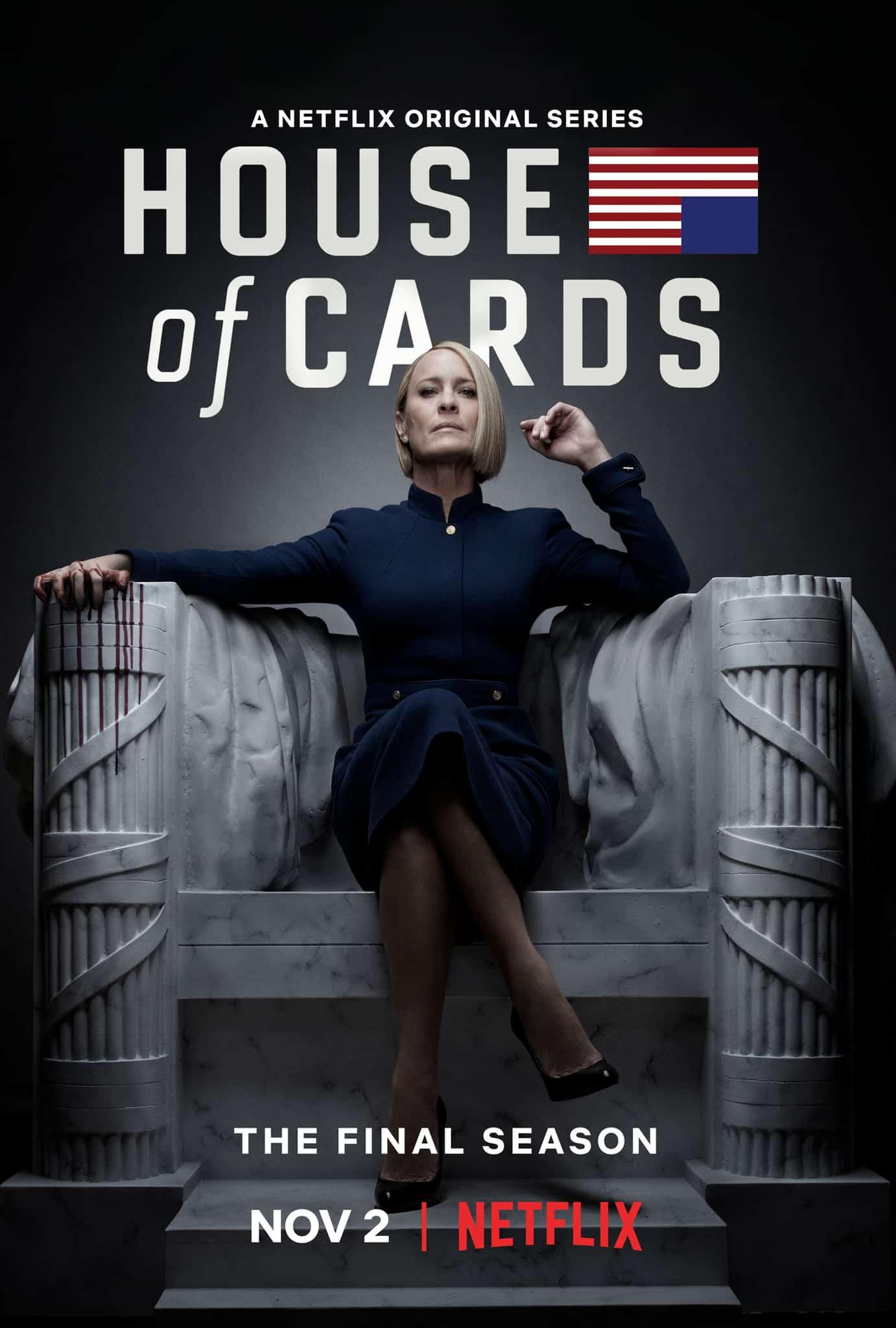 เกมส์อำนาจ ปี 6 House of Cards Season 6 ซับไทย EP1 – EP8 [จบ]