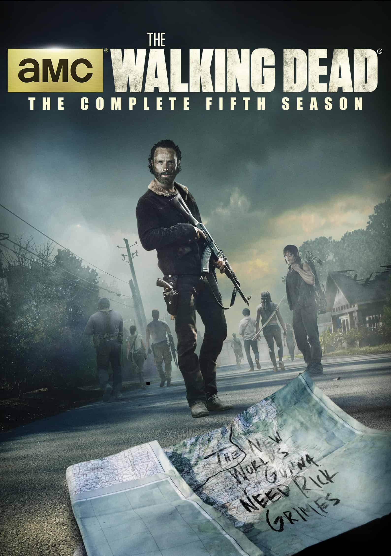 ฝ่าสยองทัพผีดิบ ปี 5 The Walking Dead  Season 5 ซับไทย EP1 – EP16 [จบ]