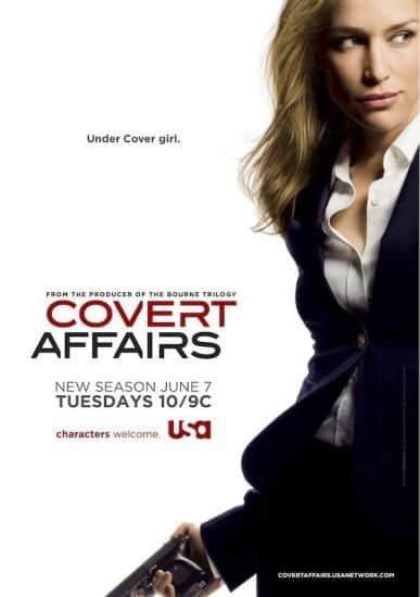 Covert Affairs Season 2 สวยซ่อนเล็บ ปี 2 ซับไทย EP1 – EP16 [จบ]