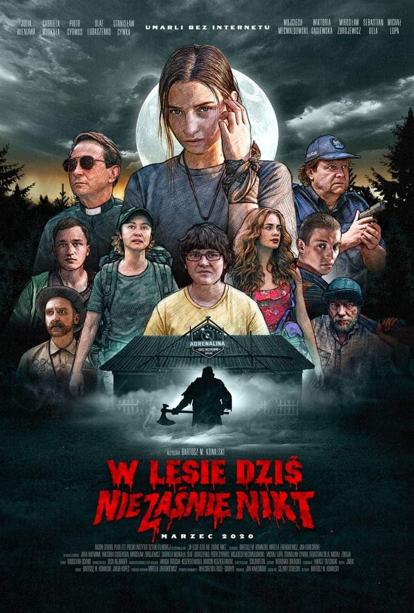 Nobody Sleeps in the Woods Tonight (2020) คืนผวาป่าไร้เงา