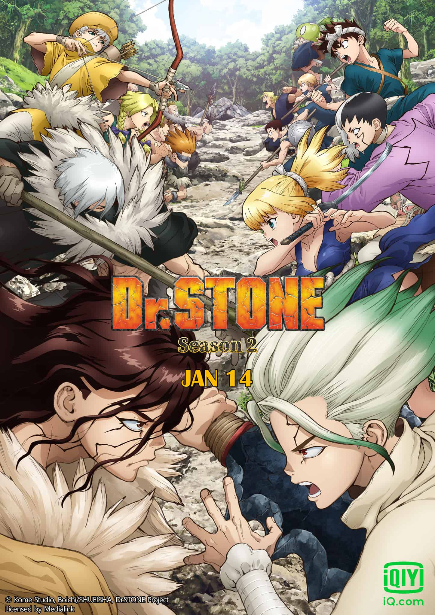 Dr.STONE Season 2 ซับไทย EP1-EP8