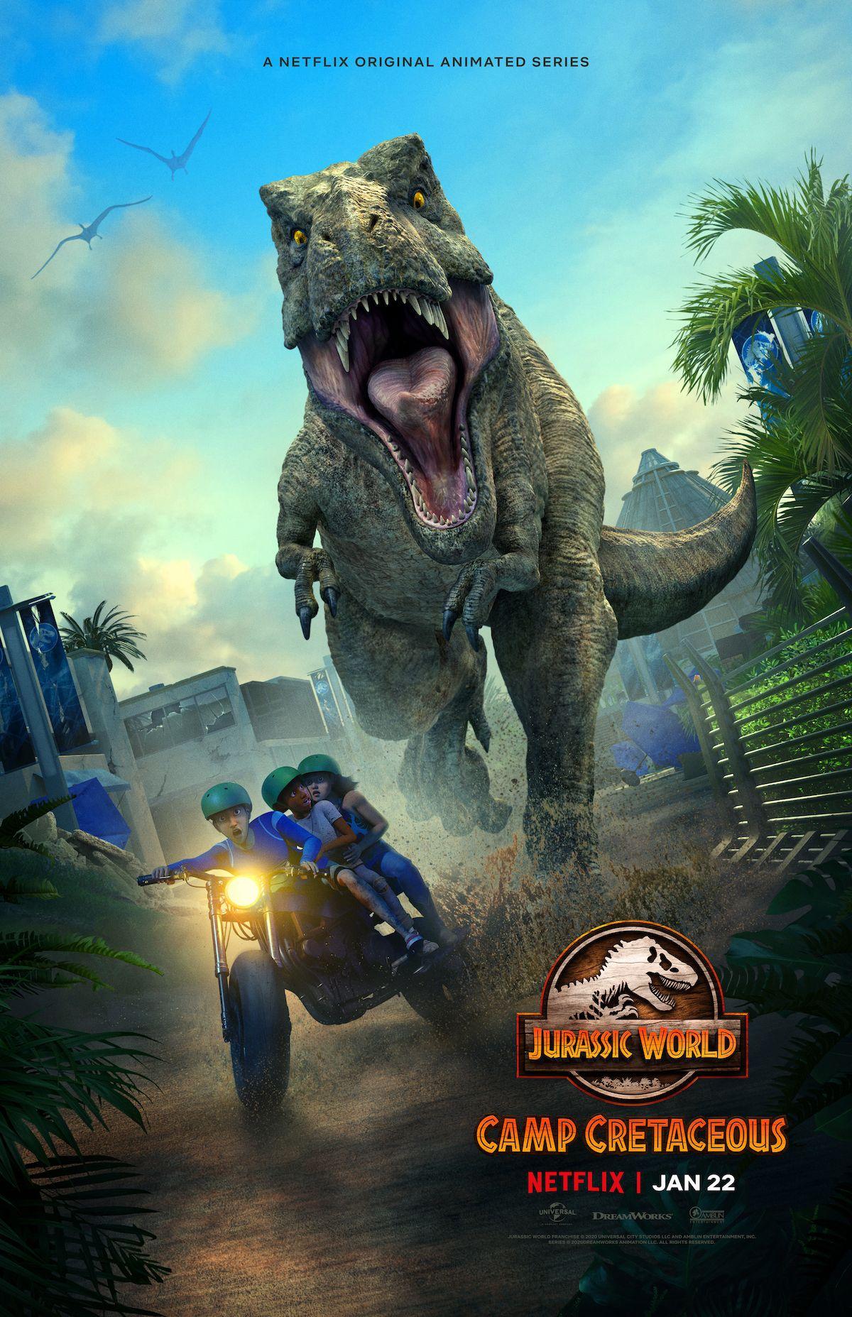 Jurassic World : Camp Cretaceous Season 2 (2021) จูราสสิค เวิลด์ ค่ายครีเทเซียส ภาค2 พากย์ไทย EP1-EP8 [จบ]