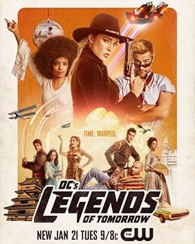 DC'S LEGENDS OF TOMORROW SEASON 5 รวมพลคนเหนือมนุษย์ ปี 5 พากย์ไทย EP1-EP5