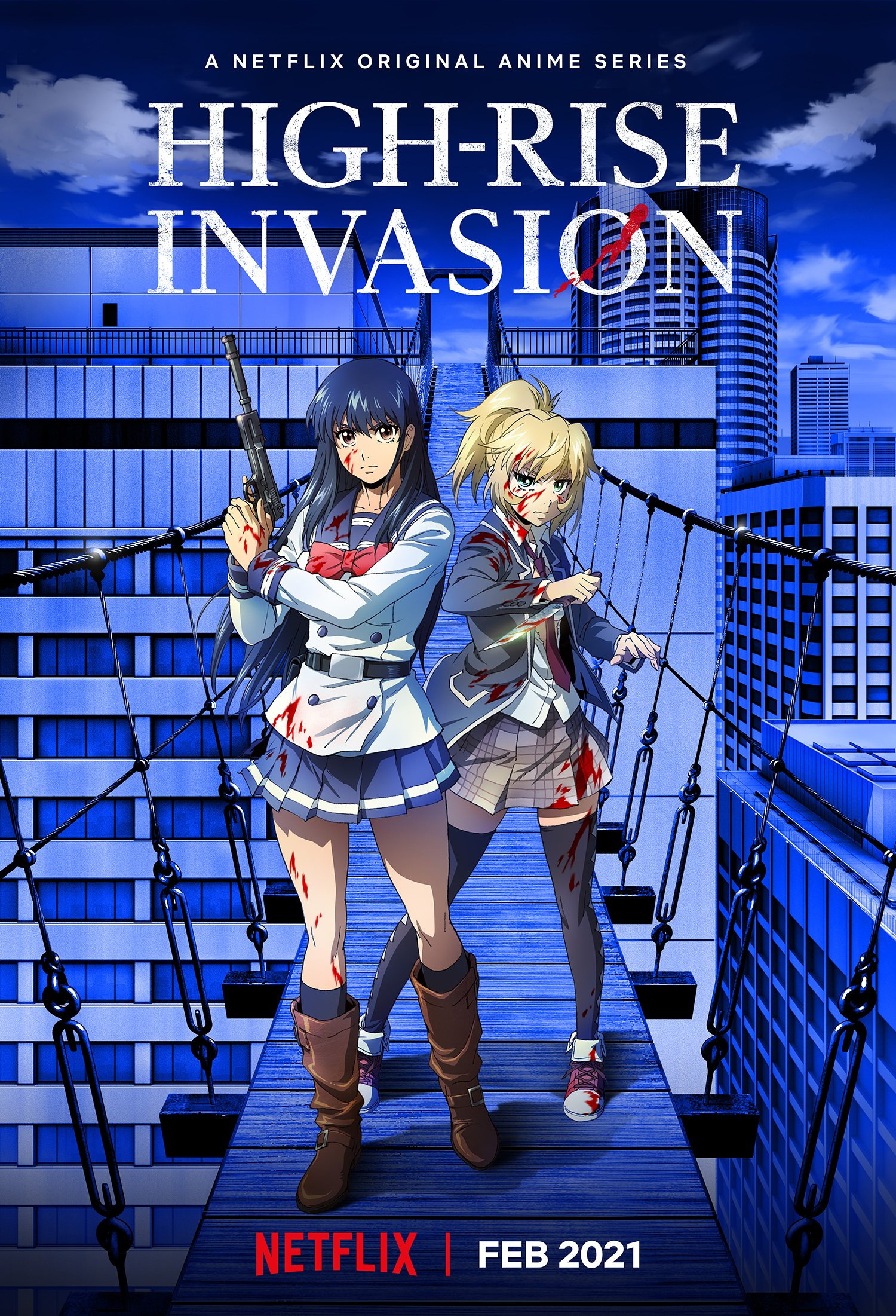 High-Rise Invasion (2021) หน้ากากเดนนรก พากย์ไทย EP1-EP12 [จบ]