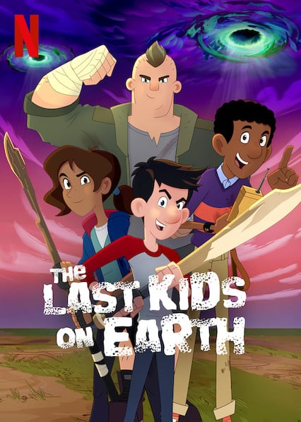 The Last Kids on Earth Happy Apocalypse to You (2021) สี่ซ่าท้าซอมบี้: สุขสันต์วันหลังโลกแตก