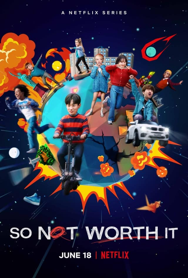 So Not Worth It วัยใสๆ หัวใจสุดเปิ่น พากย์ไทย EP1-EP12 [จบ]