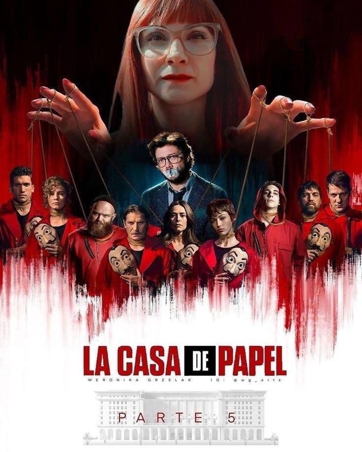 LA CASA DE PAPEL SEASON 5 (Money Heist) ทรชนคนปล้นโลก ปี 5 ซับไทย EP1-EP6